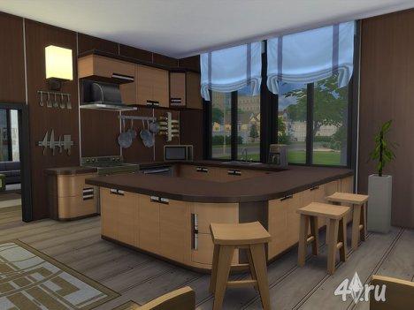"Особняк ""Claine"" от Ineliz для The Sims 4"