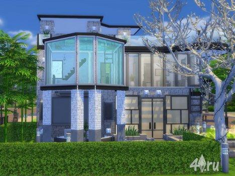 "Особняк ""Марина"" от Ineliz для The Sims 4"