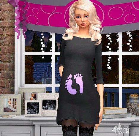 """Мод """"Управление беременностью"""" ver. 4.0 от Scumbumbo and java7nerd для Симс 4"""