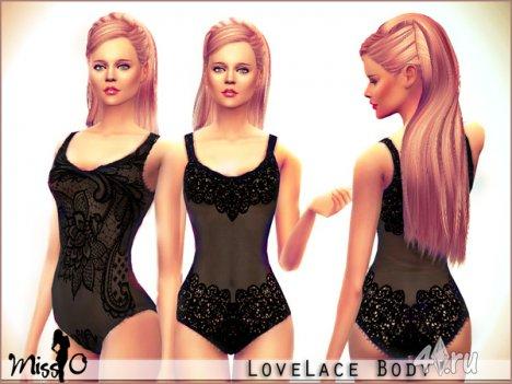 Кружевное нижнее белье от Mis_O для The Sims 4