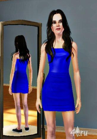 Симка актрисы Белла Свон (Bella Swan) от BB для игры Симс 3