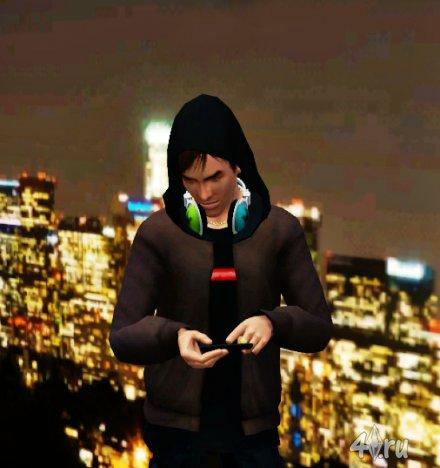 Сим Люк Катчер (Luke Katcher) от BB для Симс 3