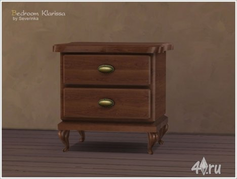 "Спальня ""Кларисса"" в стиле модерн от Severinka для The Sims 4"