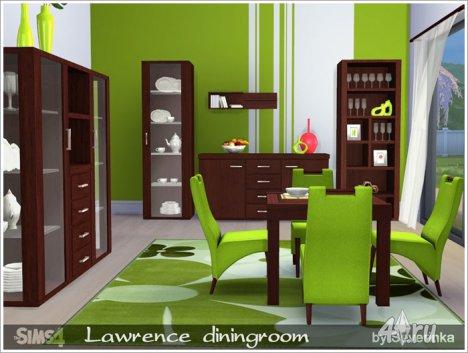 """Столовая """"Лоренс"""" от Severinka для The Sims 4"""