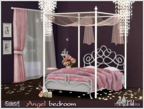 """Спальня """"Ангел"""" от Severinka для The Sims 4"""