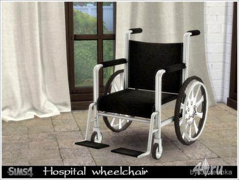 Инвалидное кресло от Severinka для The Sims 4