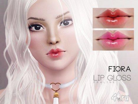 """Блеск для губ """"Фиора"""" от Pralinesims для Симс 3"""
