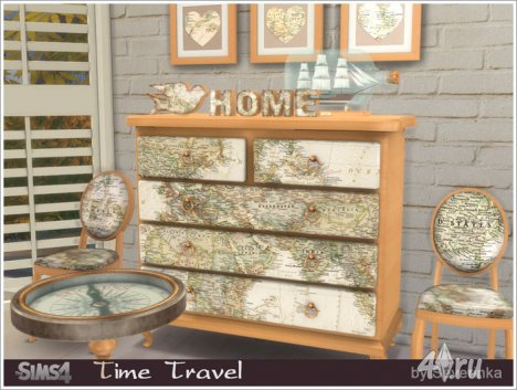 Набор мебели и декора