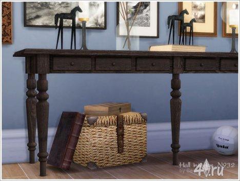 Набор мебели и декора с элементами ретро и шебби от Severinka для The Sims 4