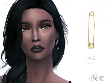"""Сет аксессуаров """"Jac"""" от SLYD для The Sims 4"""