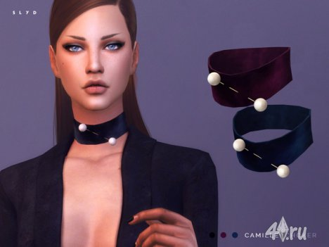 "Аксессуар ""Camille"" от SLYD для The Sims 4"