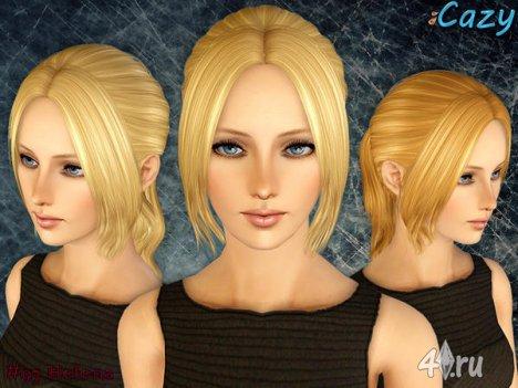 """Прическа """"Хелена"""" от Cazy для Симс 3 в формате sims3pack"""