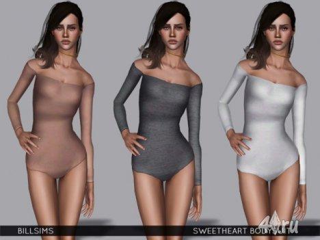 Боди от Bill Sims для Симс 3 в формате sims3pack