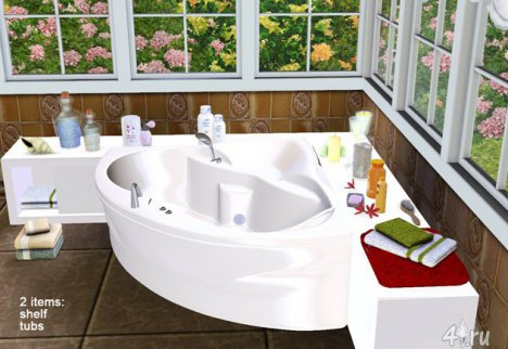 "Ванная ""Клио"" от Severinka для Симс 3 в формате sims3pack"