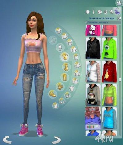 Клонирование и экспорт меша своей одежды для игры Симс 4