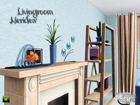 """Гостиная """"Меридея"""" от BuffSumm для The Sims 3"""