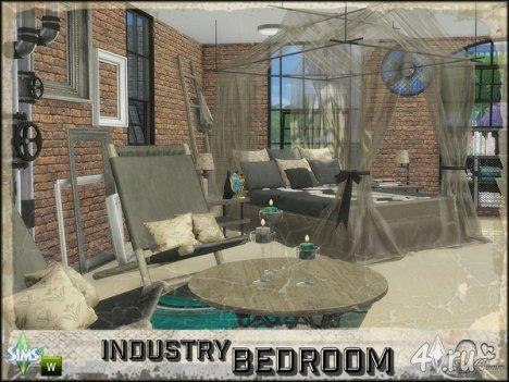 Спальная комната от BuffSumm для The Sims 4