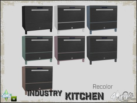 Кухонный сет от BuffSumm для The Sims 4