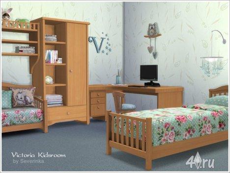 "Детская комната ""Виктория"" от Severinka для The Sims 4"