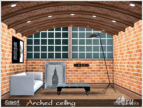 Арочный потолок от Severinka для The Sims 4