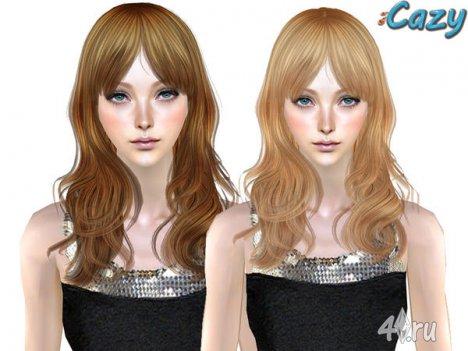 """Женская прическа """"Агнета"""" от Cazy для The Sims 2"""