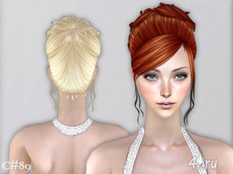 """Женская прическа """"Моя Воля"""" от Cazy для The Sims 2"""