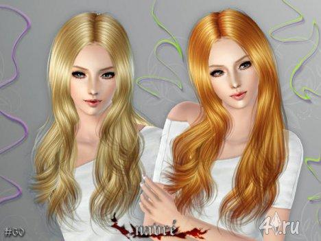 """Женская прическа """"Navre"""" для взрослых и детей от Cazy для The Sims 3"""