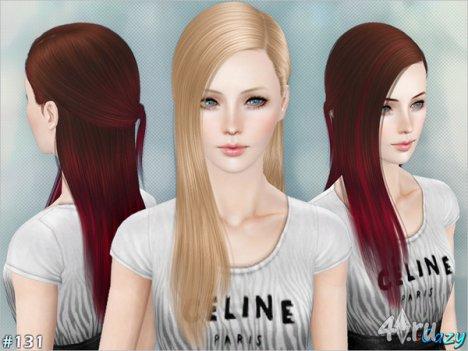 """Женская прическа """"Skyle"""" для взрослых и детей от Cazy для The Sims 3"""