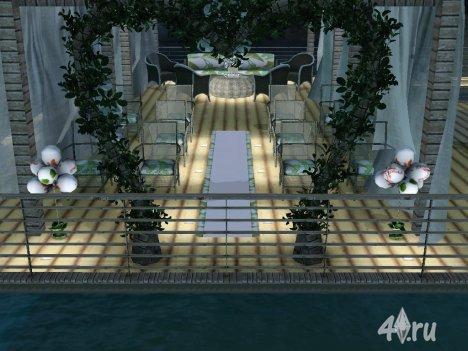 """Курорт """"Лазурный берег"""" для Симс 3 в формате sims3pack"""