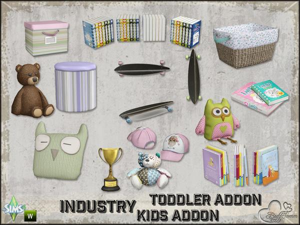 Детская комната от BuffSumm для The Sims 4