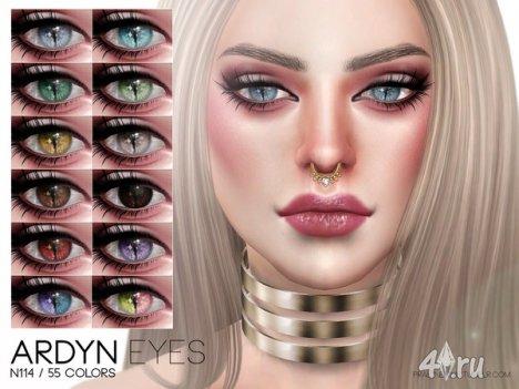"""Линзы """"Ardyn"""" от Pralinesims для The Sims 4"""