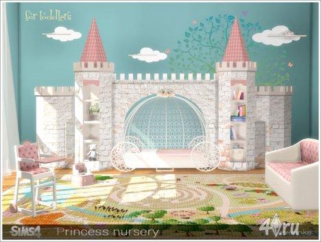 """Детская комната """"Принцесса"""" от Severinka для The Sims 4"""