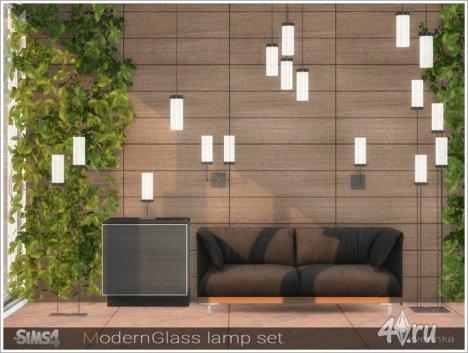 Набор светильников в современном стиле от Severinka для The Sims 4