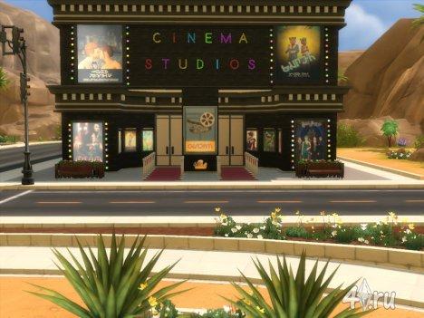 Большой кинотеатр для Симс 4 от khewitt