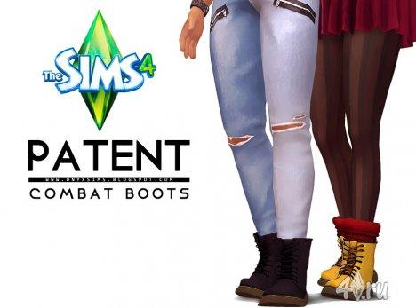 Универсальные ботинки от Оникс для игры Симс 4