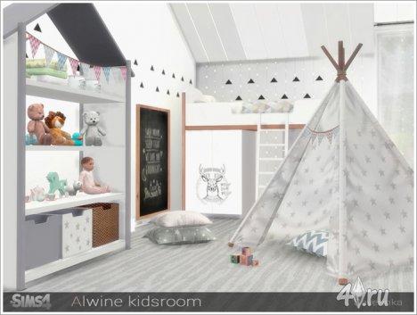 Детская в скандинавском стиле от Severinka для The Sims 4