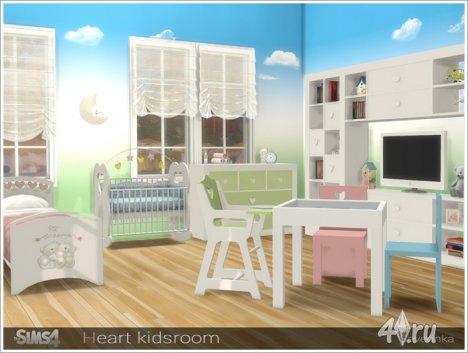 Набор мебели и декора для детской от Severinka для The Sims 4