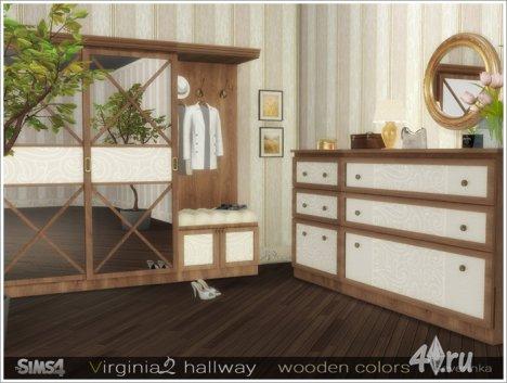 Набор мебели и декора для прихожей от Severinka для The Sims 4