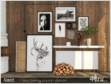 Набор декора для оформления гостиной в скандинавском стиле от Severinka для ...