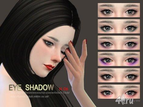 Тени для век от S-Club для The Sims 4