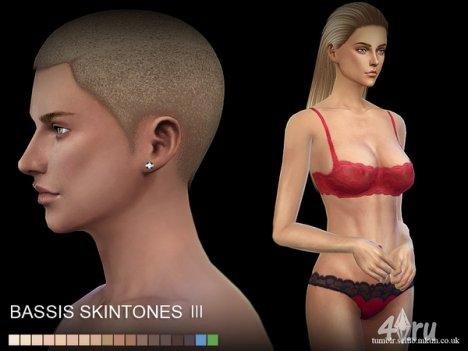 "Скинтон ""Bassis"" от S-Club для The Sims 4"