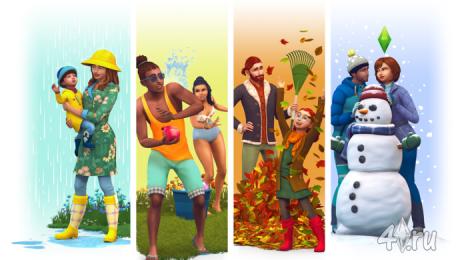 "Обзор и дата выхода набора ""The Sims 4 Времена года"""