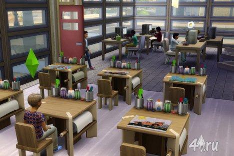 Образование в игре Симс 4