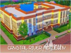 Академия высшего образования Crystal River от Paradox для Симс 4